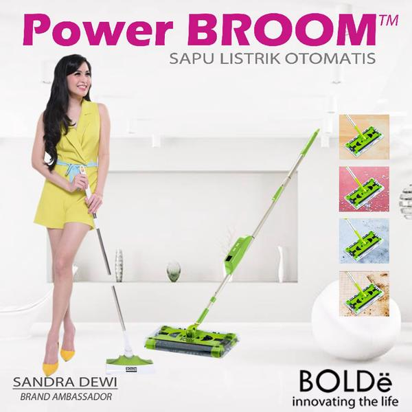 Sapu Listrik Power Broom Super Bolde Murah